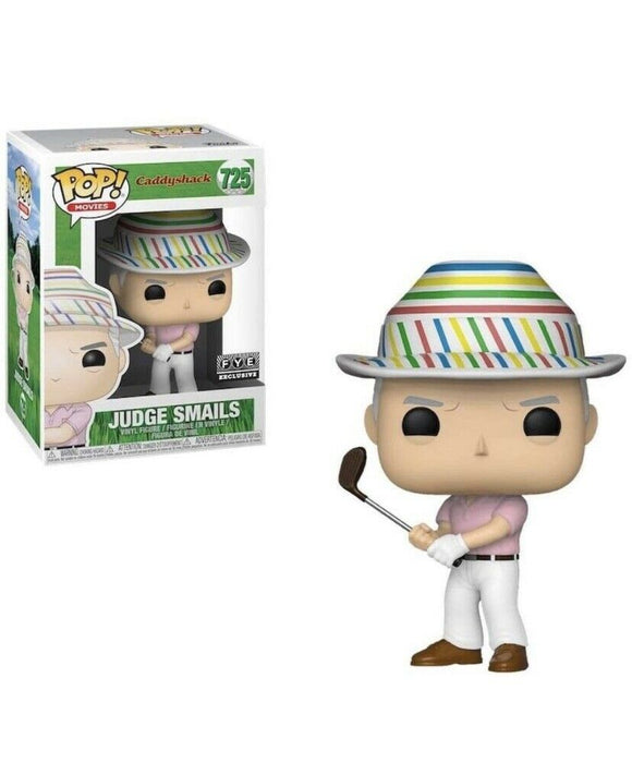 Funko Pop! Movies Caddyshack #725 Judge Smails (with hat) FYE Exclusive