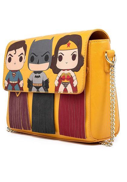 Superman Batman Wonder Woman purse