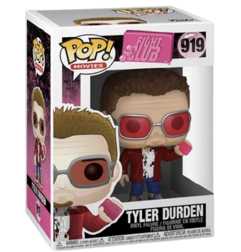 Funko Pop! Movies: Fight Club #919 Tyler Durden Vinyl Figure