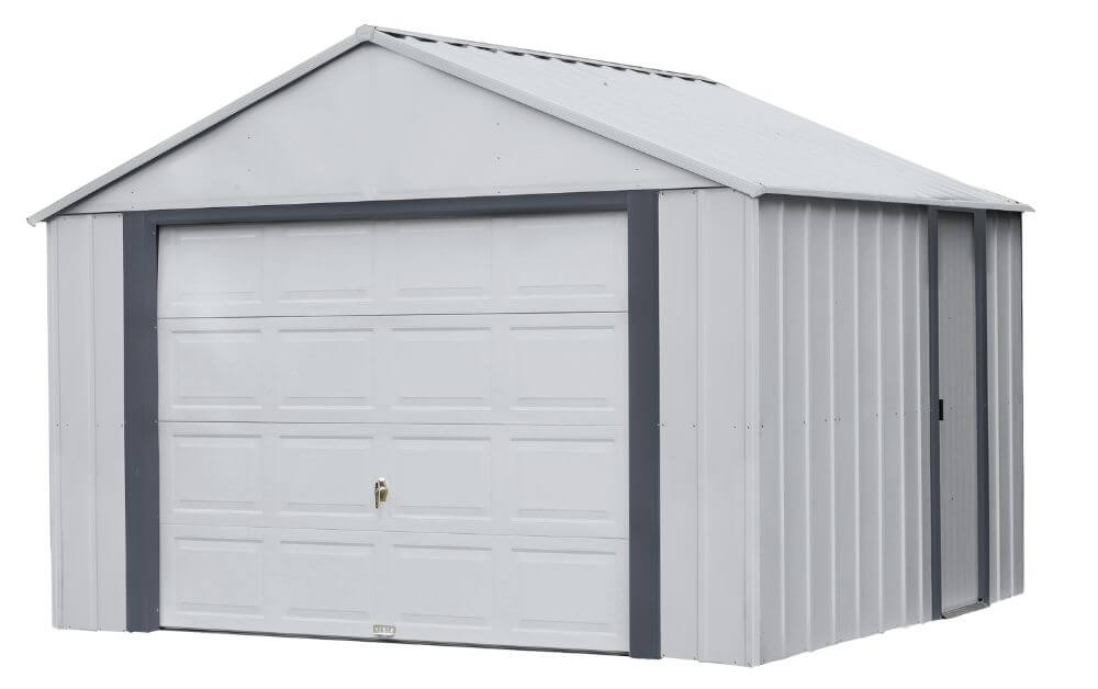 ARROW Sheds Murryhill 12' x 10' Metal Shed / PreFab Garage Kit - SKU: BGR1210FG