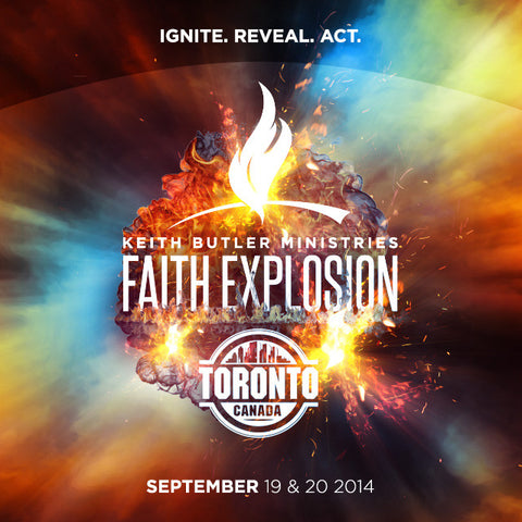 Friday, September 19, 2014 Toronto Faith Explosion