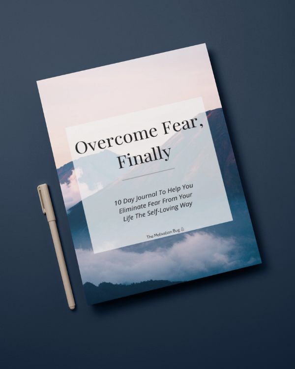 Overcome Fear 10 Day Digital Journal