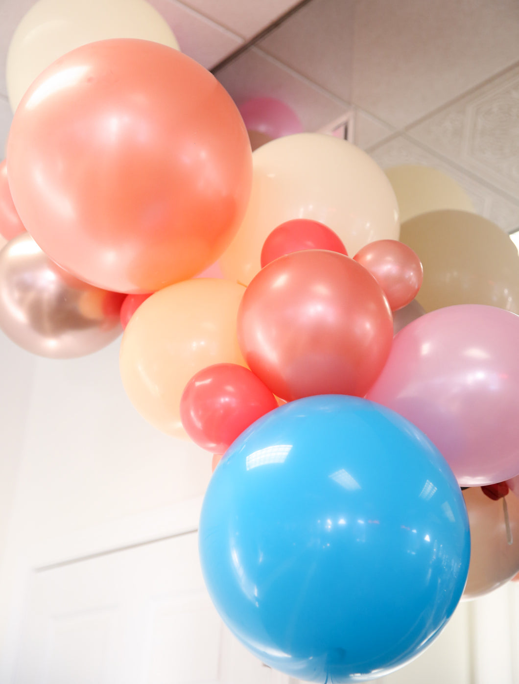 Pre-Made Balloon Garland -- Light & Airy