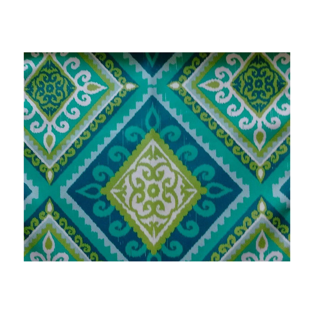 Outdoor Spanish Tile Tablecloth