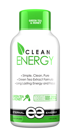 Clean Energy - Green Tea & Honey - 12 CT