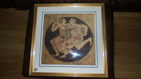 dance of love classic 28x28 gold frame