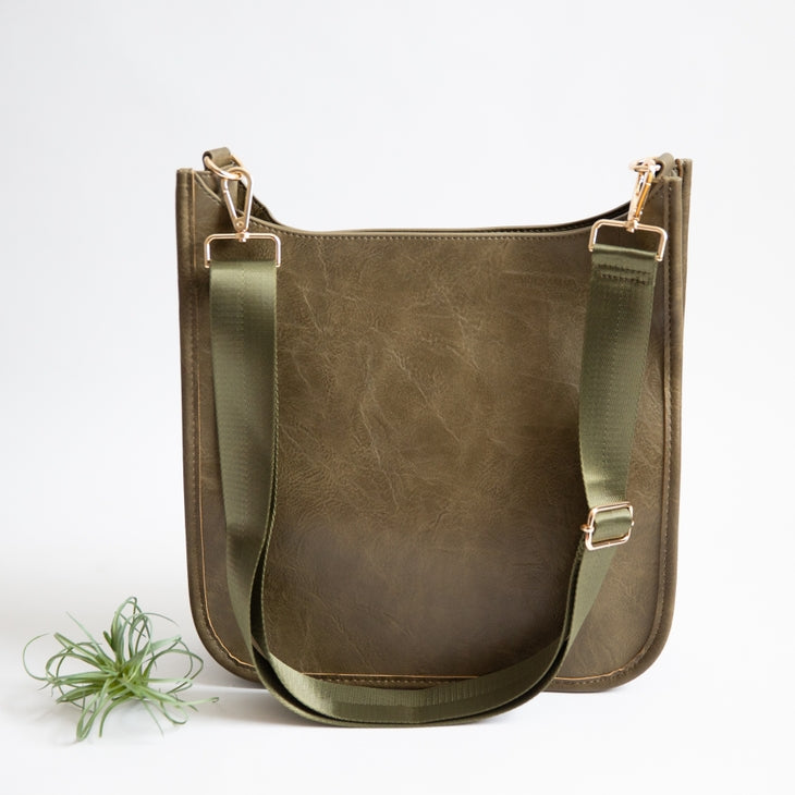 Wonderlust Crossbody  Olive