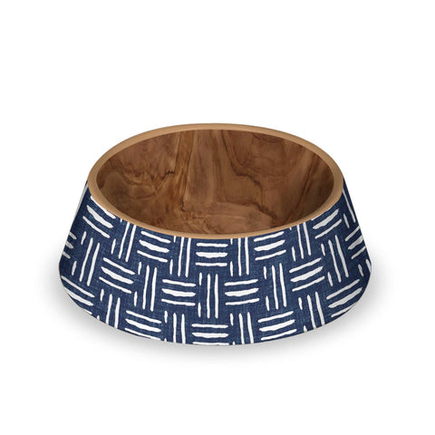 Indigo Oasis bowl for dogs and cats