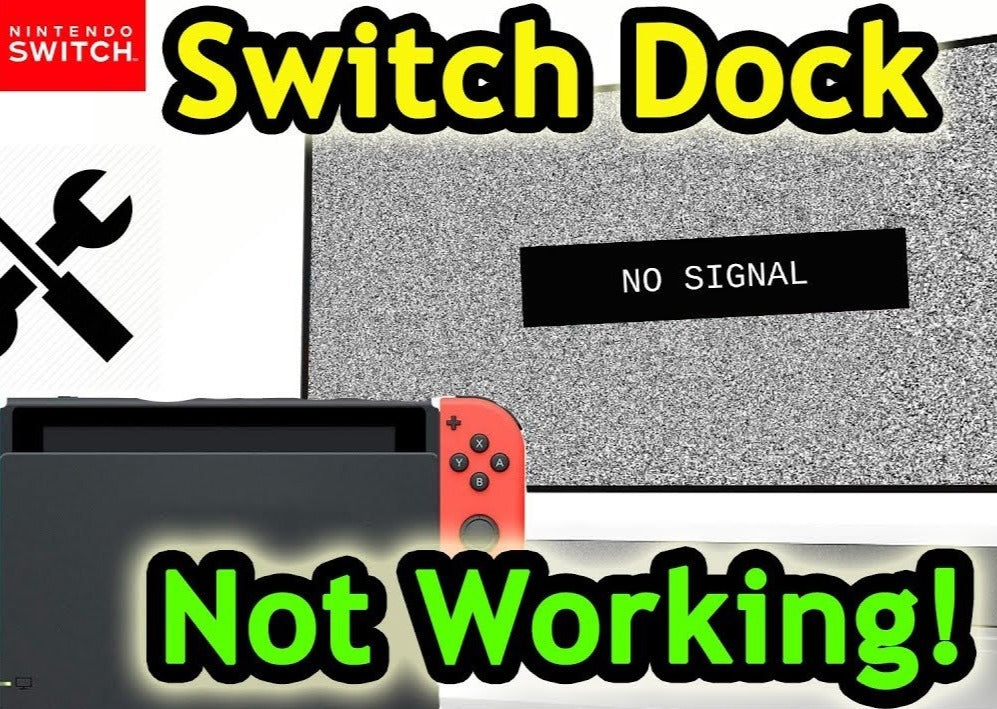 Nintendo Switch - No Video To TV Repair