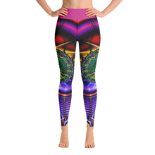 Load image into Gallery viewer, Spiral Shell Yoga Leggings