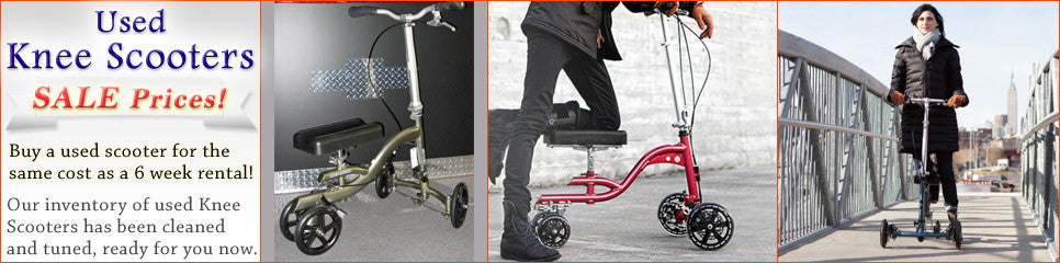 Click here to view used Knee Scooters FOR SALE