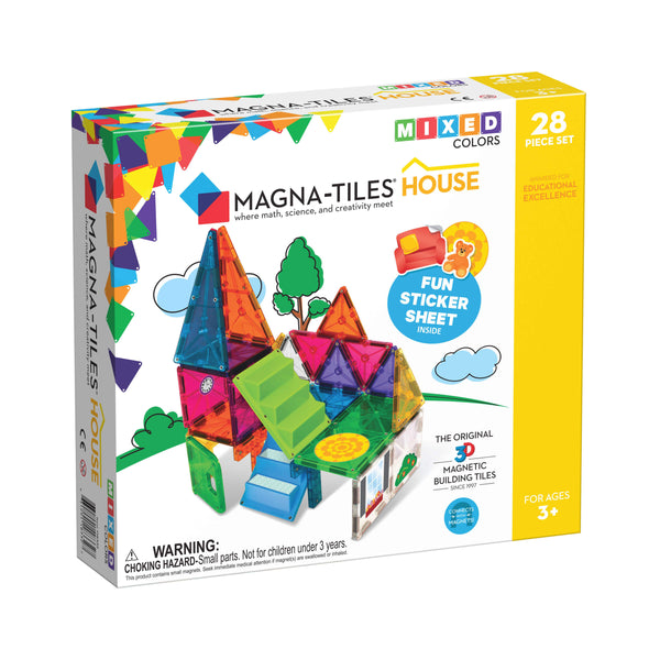 Magna-Tiles - House - 28 Piece Set