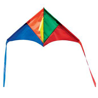 Melissa & Doug - Mini Kite - Triangle Rainbow Delta