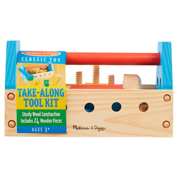 Melissa & Doug - Take-Along Tool Kit Wooden Toy