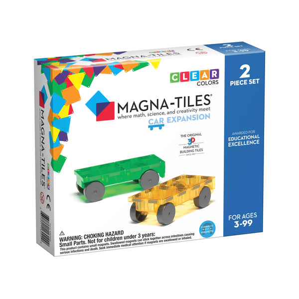 Magna-Tiles - Cars - 2 Piece Expansion Set