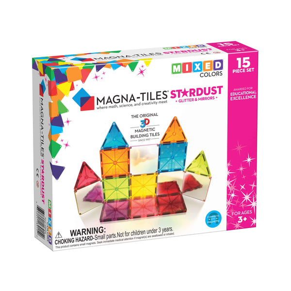 Magna-Tiles - Stardust -15 Piece Set