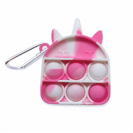 Top Trenz - OMG Pop Fidgety Keychain - Unicorn