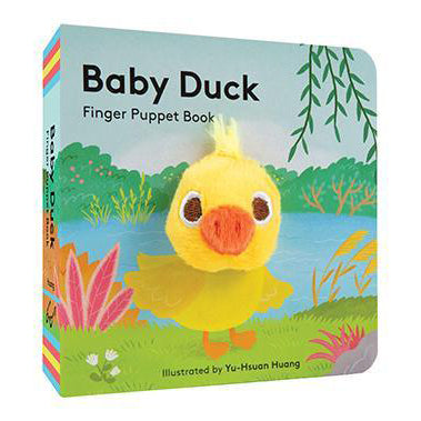 Chronicle Books - Finger Puppet Book - Baby Duck