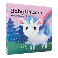 Chronicle Books - Finger Puppet Book - Baby Unicorn