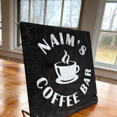 Coffee Bar Sign for Home