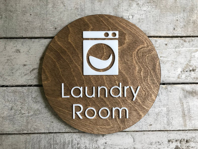 Laundry Room Decor | Bed and Breakfast Laundromat Sign | Rustic Wash Dry | Guest House Cabin Rental