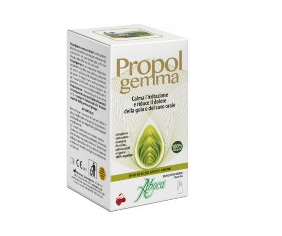 Aboca Propolgemma - Spray No Alcool  per adulti e bambini - 30ml