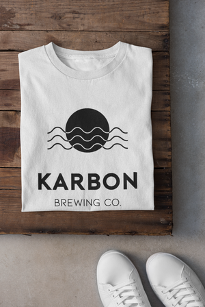 Karbon Brewing Co. Colour Tee - White