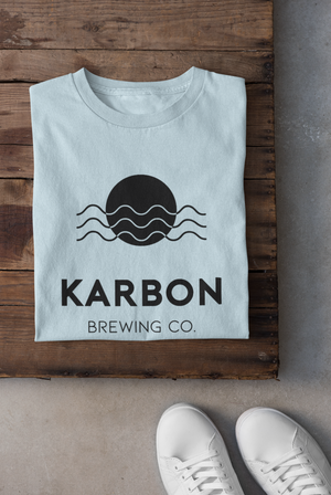 Karbon Brewing Co. Colour Tee - Chambray (Light Blue)