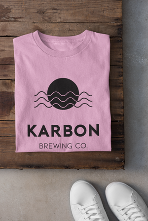 Karbon Colour Tee - Pink