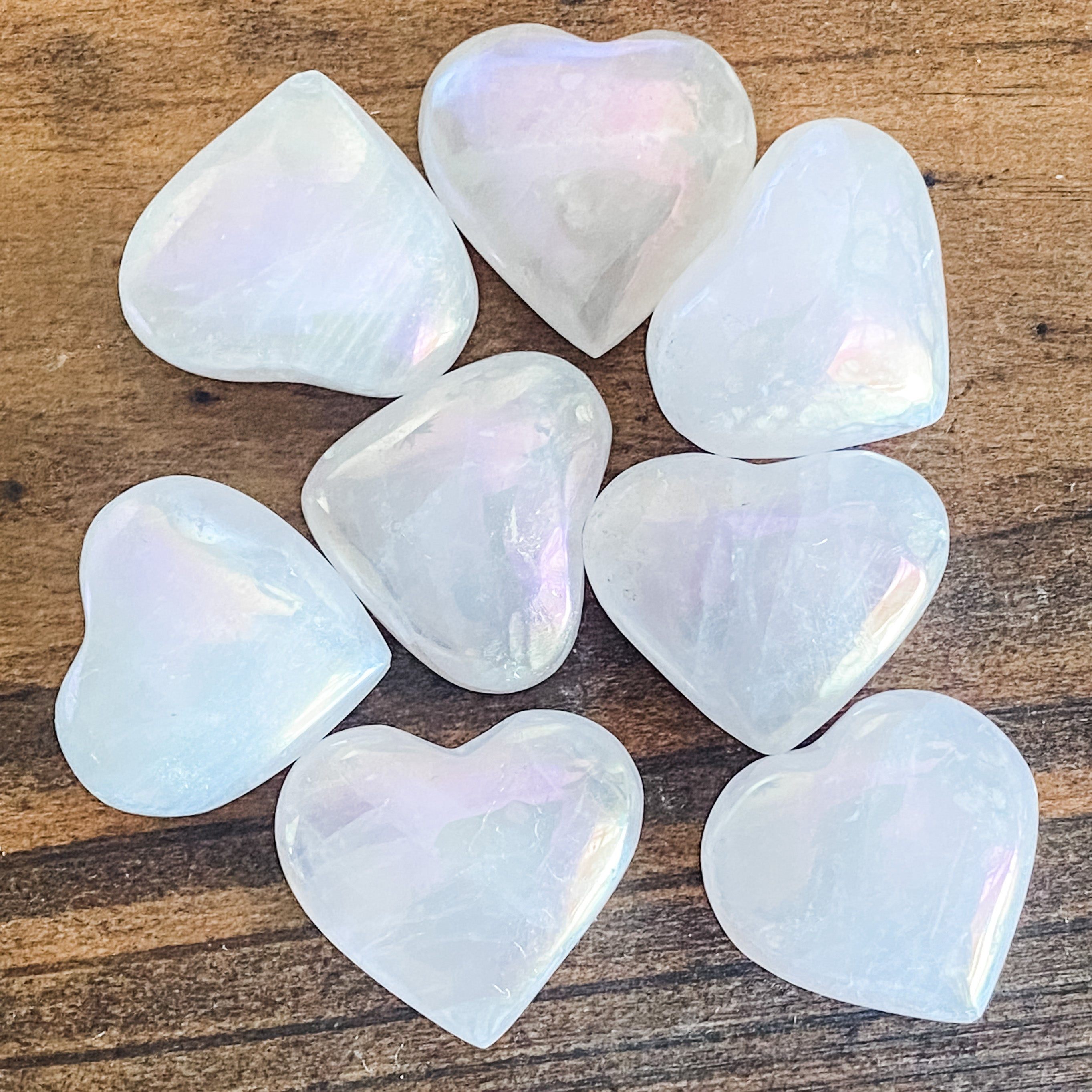Aura Quartz Heart