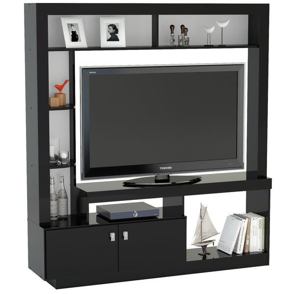 Black Finish TV Unit