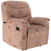 Wheat Fabric Recliner Chair