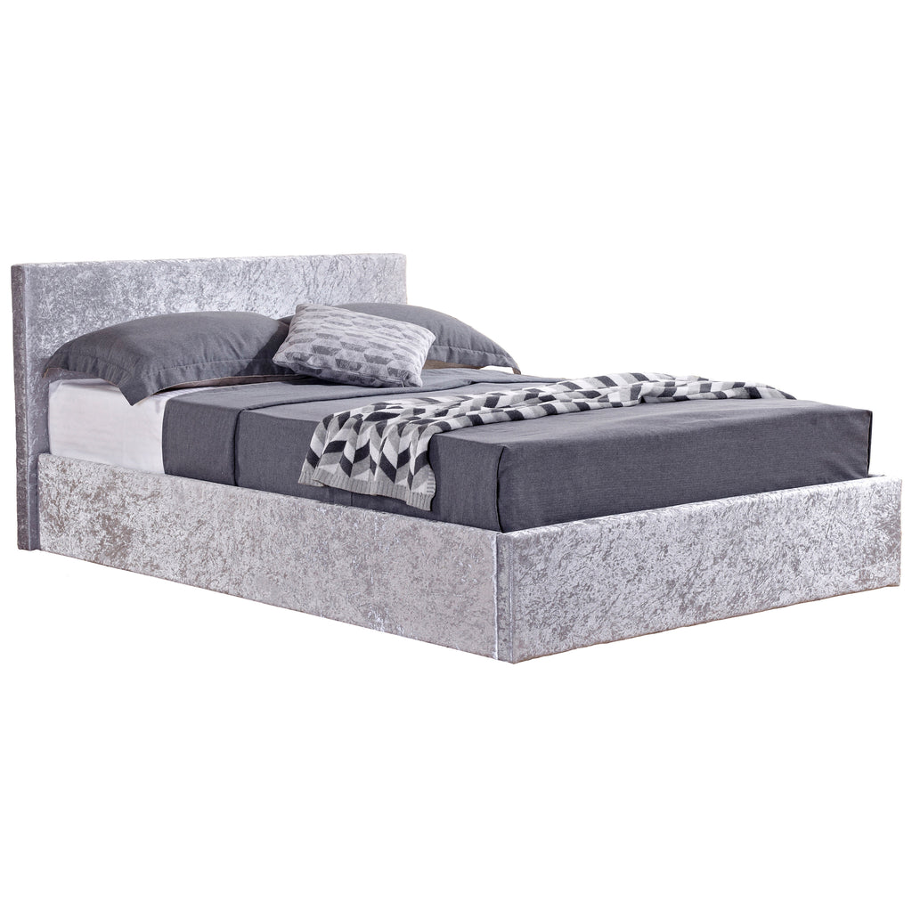 Crushed Velvet Storage Bed