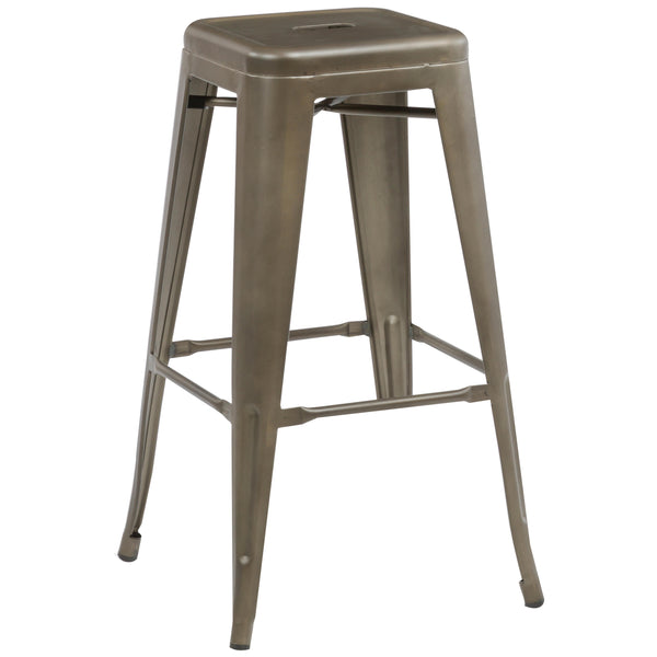2x Metal Bar Stools
