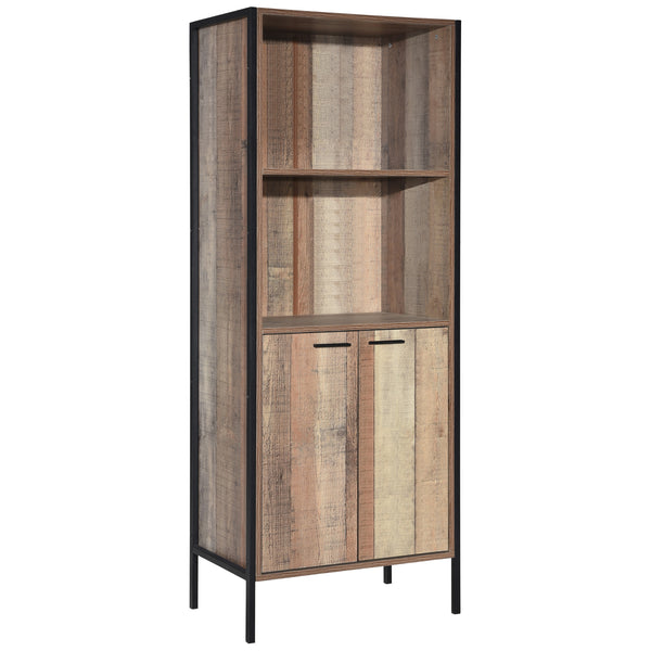 Wood Effect Display Cabinet