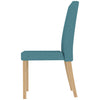 2x Fabric Dining Chairs