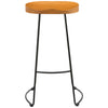 1x Solid Pine & Metal Bar Stool