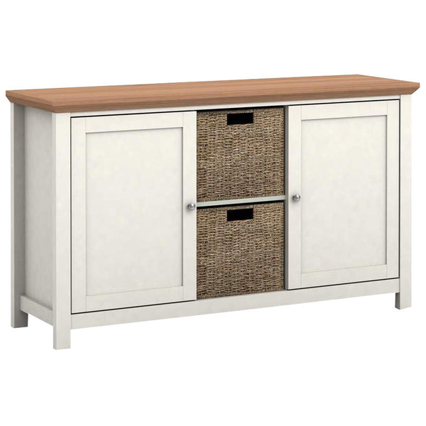 Oak Finish Sideboard