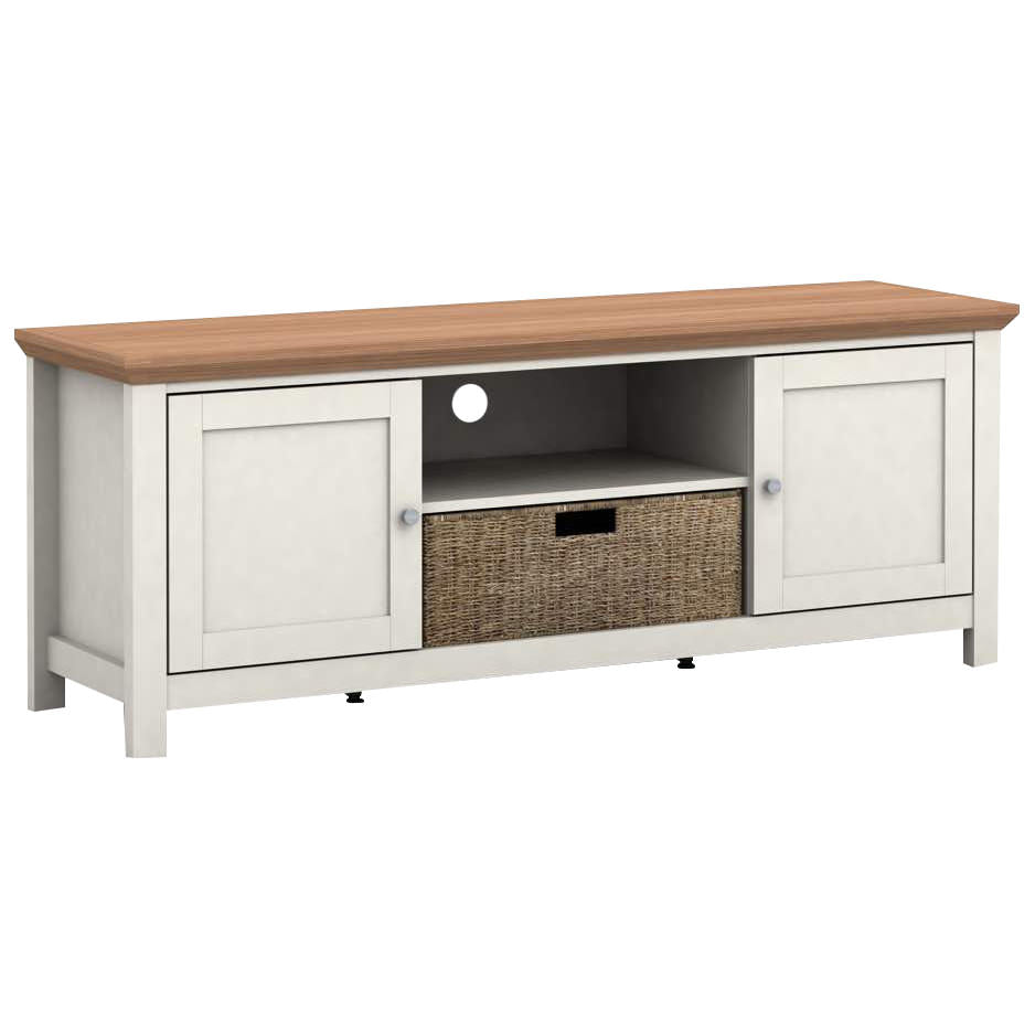 Oak Finish TV Unit