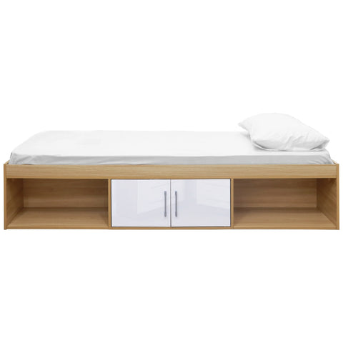 Oak Effect Cabin Bed