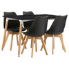 Black Finish Dining Set