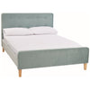 Aqua Blue Velvet Bed Frame