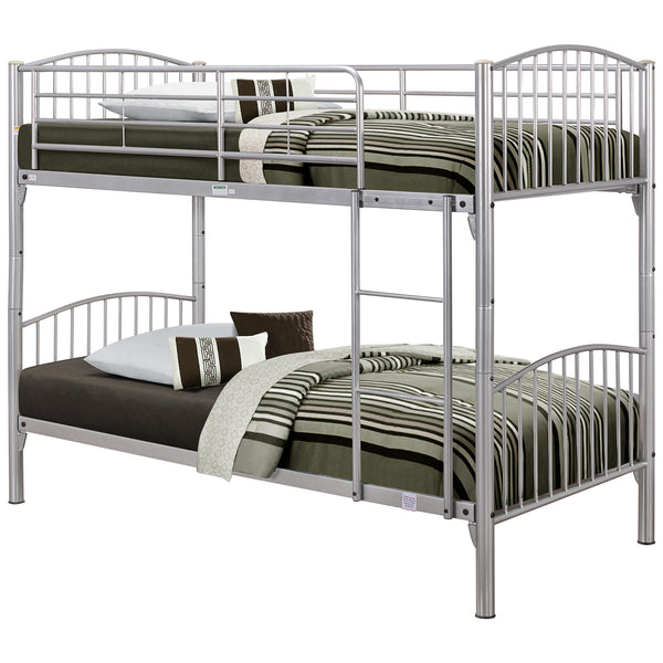 Metal Finish Bunk Bed