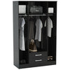 High Gloss Finish Wardrobe