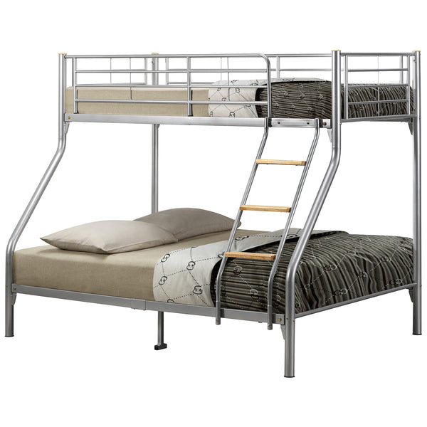 Metal Finish Triple Sleeper Bunk Bed