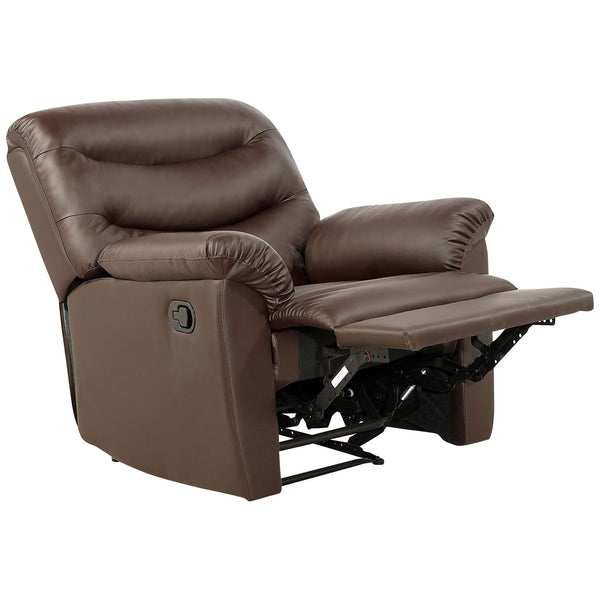 Faux Leather Recliner Chair