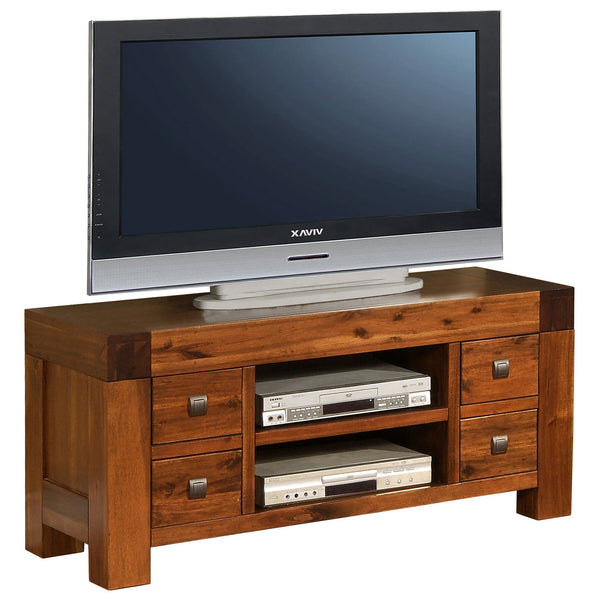 Solid Acacia & Veneer TV Unit