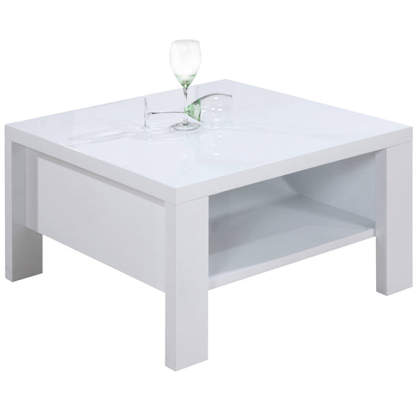 High Gloss White Coffee Table