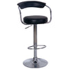 Chrome & Leather Bar Stool