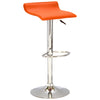 2x Leather Bar Stool